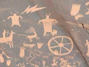 Utah hyroglyphics