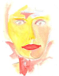 Lady-pastel
