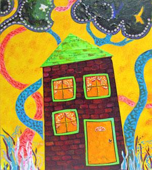Acrylic house