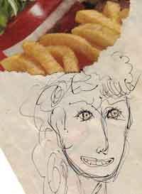 fry-hair sweetie pie